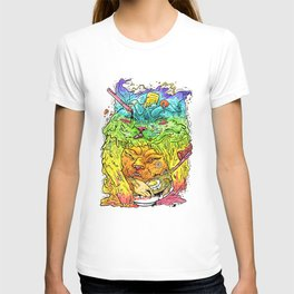 Maneki-Neko Noodles  T-shirt