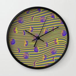 Moon Glowing Wall Clock