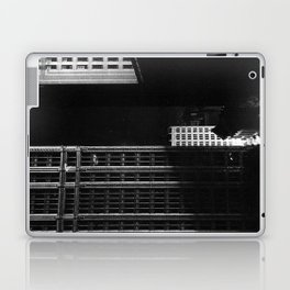 architecture immeuble noir blanc 4 Laptop & iPad Skin