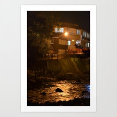 A River View Room Art Print