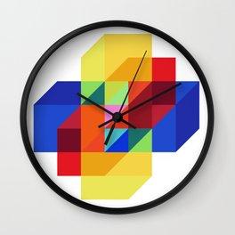 hypercube prism  Wall Clock