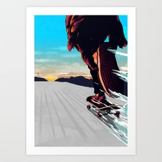 Keep  On Pushin' Art Print