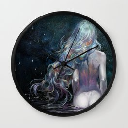 requiem for stardust Wall Clock