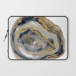 agate slice art, agate slice, agate art, geode art, geode print, modern art, contempora Laptop Sleeve