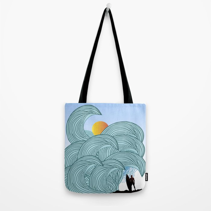surfing 3 Tote Bag