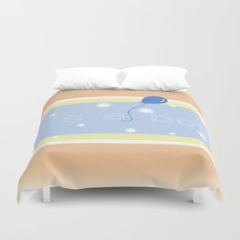 It's A Boy Duvet Cover