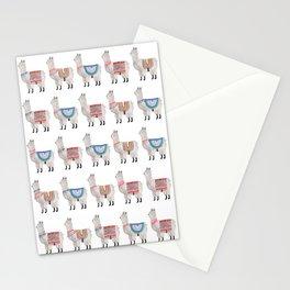 Llama Alpaca Stationery Cards