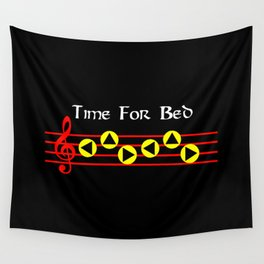 Time For Bed - Zeldas Lullaby (The Legend Of Zelda: Ocarina Of Time) Wall Tapestry