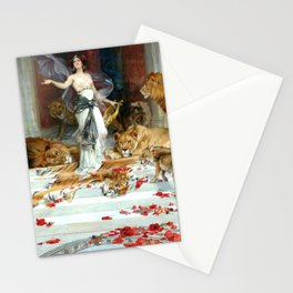 Wright Barker Circe Nyph Goddess Of Magic Witch Enchantress Turn Men Into Animals Stationery Cards