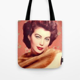 Ava Gardner, Vintage Actress Tote Bag