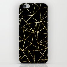 Ab Dotted Gold iPhone & iPod Skin