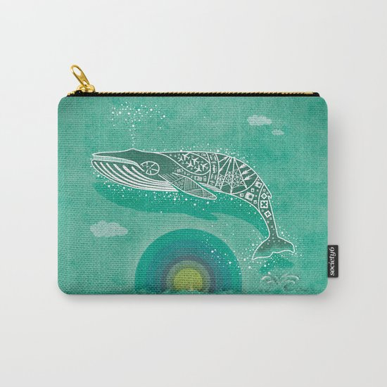 Whale Future Carry-All Pouch