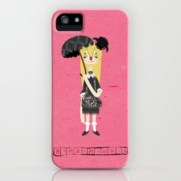 """Bimbiminkia"" - Gothic Lolita iPhone Case"