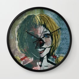 Ha Ha Harley Wall Clock