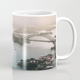 Sydney Opera House Harbour Bridge | Australia Aerial Travel Photography Coffee Mug