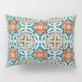 Seamless Floral Pattern Ornamental Tile Design : 1 Pillow Sham