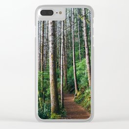 Trees: III // Oregon Clear iPhone Case