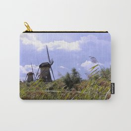 Two sisters at Kinderdijk Carry-All Pouch