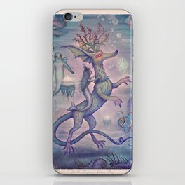 In the Turquoise Glacier Reef iPhone Skin