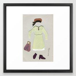 Anne of Green Gables Outfit, 1 Framed Art Print