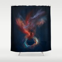 spirit Shower Curtains featuring Spirit by jbjart