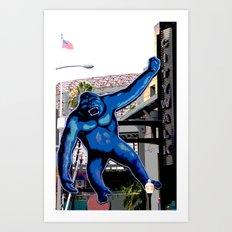 King Kong Art Print