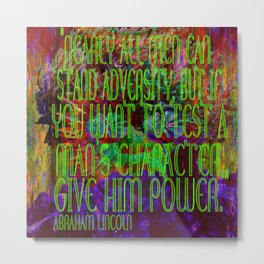 Chaos and Power Metal Print