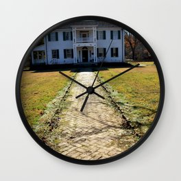 Cherokee Nation - The Historic George M. Murrell Home, No. 3 of 5 Wall Clock