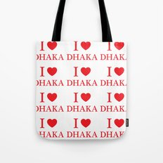I Love Dhaka Tote Bag