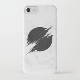 The Sun Is Black iPhone Case