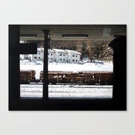 Platform. Canvas Print