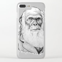 Prime darwin drawing Clear iPhone Case