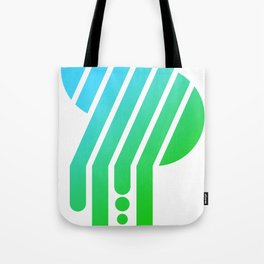 Saturated S Tote Bag