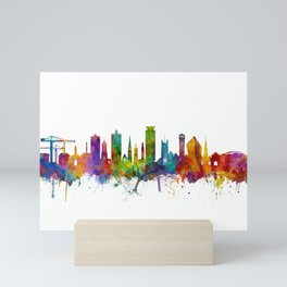 Plymouth England Skyline Mini Art Print