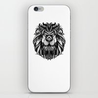 zodiac iPhone & iPod Skins featuring Signs of the Zodiac - Leo by Andreas Preis