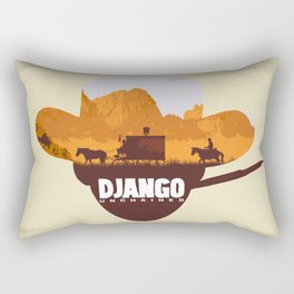 Django Unchained Rectangular Pillow