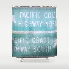 Pacific Rain Shower Curtain