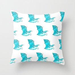 Starry Bat Throw Pillow