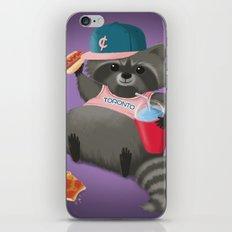 Rad Raccoon iPhone & iPod Skin