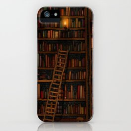 Night library iPhone Case
