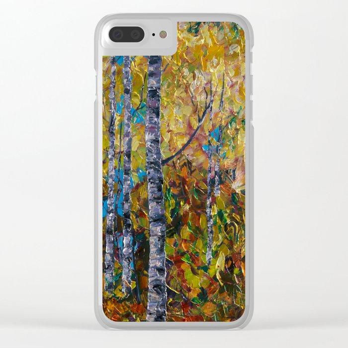 Aspens - III Clear iPhone Case