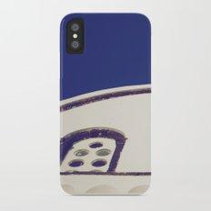 Santorini Churches IV iPhone X Slim Case