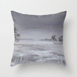 Familiar Throw Pillow