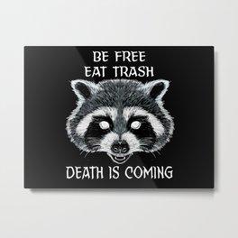 Cult of the Trash Panda Metal Print
