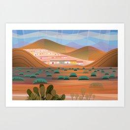 La Choya Art Print