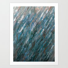 Brushed Aside Art Print