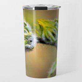Spring Desert Flower Bud by Reay of Light Travel Mug
