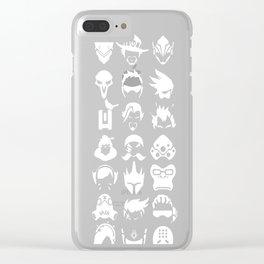 Heros - Black Clear iPhone Case
