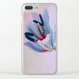 The flowers of my world Clear iPhone Case