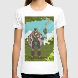 druid powerful character T-shirt